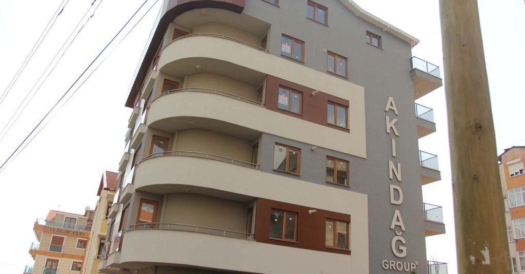 Model Alüminyum Akındağ İnşaat Beşevler Mahallesi Uygulaması