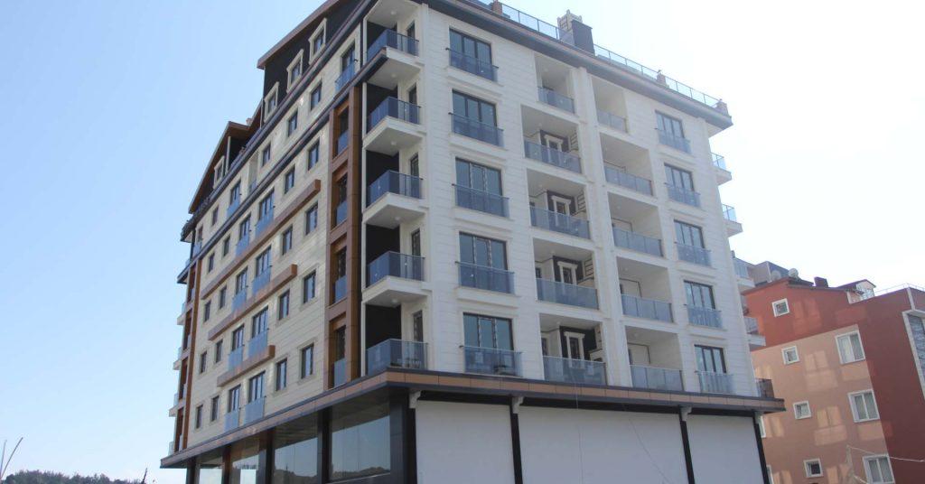 Model Alüminyum Barış Mahallesi Tercih Yapı PVC Pencere ve Kompozit Cephe Uygulaması