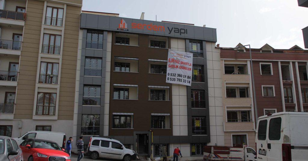 Model Alüminyum Bağlarbaşı Mahallesi Serdem Yapı PVC Pencere Uygulaması